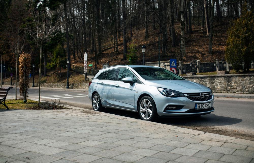 Test de consum cu Opel Astra Sports Tourer diesel: chiar și 160 de cai putere îți pot oferi un consum de 3.3 litri/100 km - Poza 11