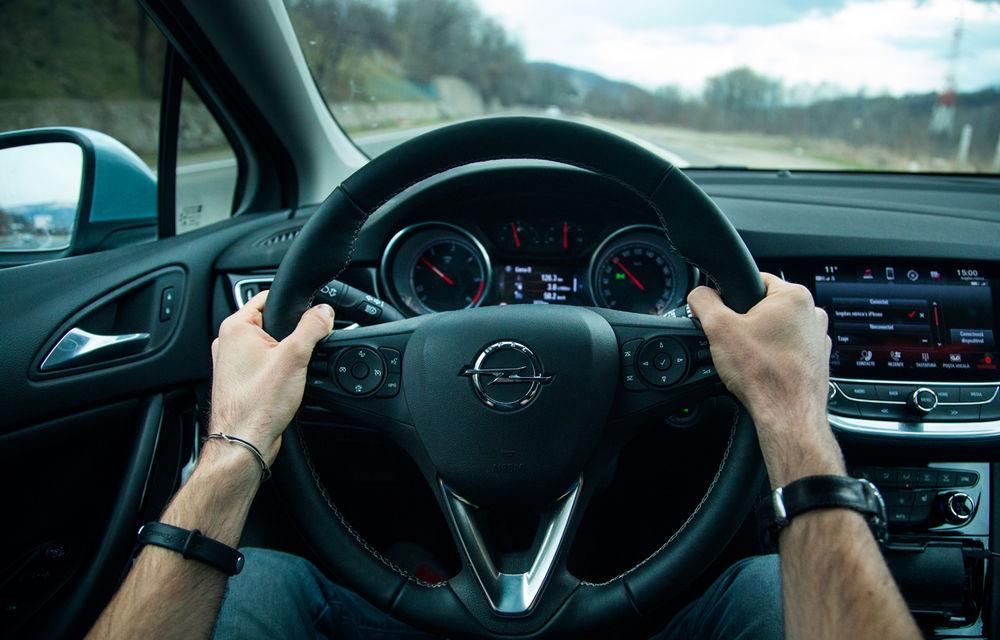 Test de consum cu Opel Astra Sports Tourer diesel: chiar și 160 de cai putere îți pot oferi un consum de 3.3 litri/100 km - Poza 10
