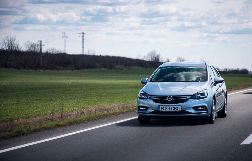 Test de consum cu Opel Astra Sports Tourer diesel: chiar și 160 de cai putere îți pot oferi un consum de 3.3 litri/100 km - Poza 5