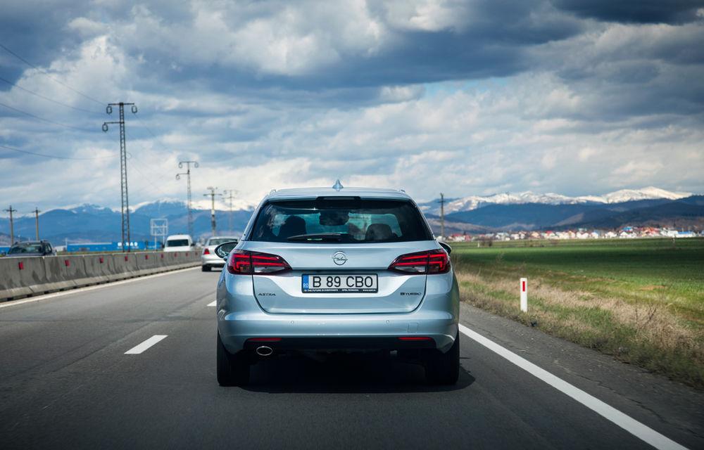 Test de consum cu Opel Astra Sports Tourer diesel: chiar și 160 de cai putere îți pot oferi un consum de 3.3 litri/100 km - Poza 9