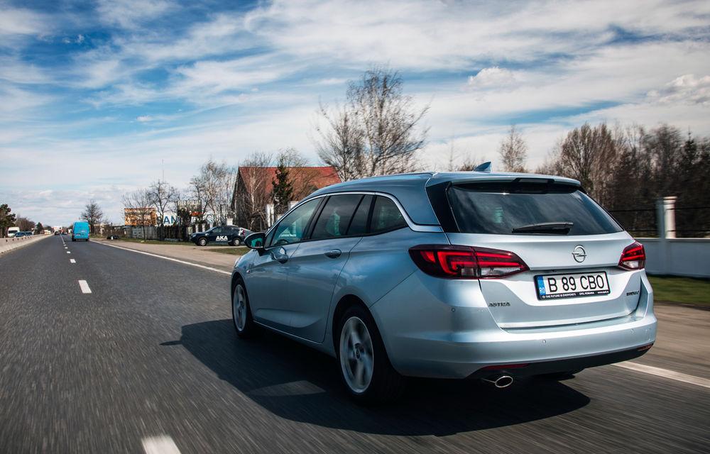 Test de consum cu Opel Astra Sports Tourer diesel: chiar și 160 de cai putere îți pot oferi un consum de 3.3 litri/100 km - Poza 6