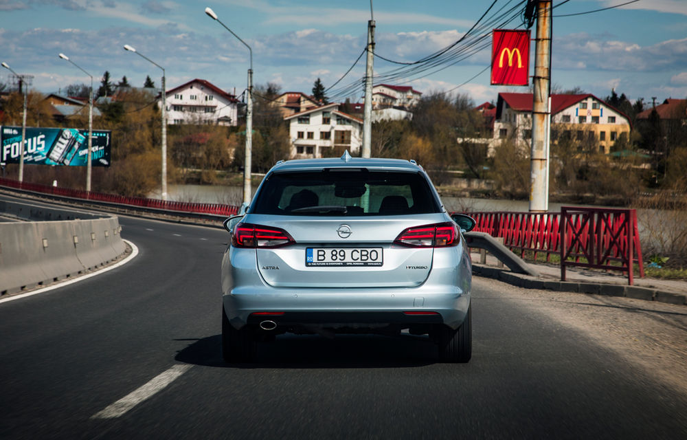 Test de consum cu Opel Astra Sports Tourer diesel: chiar și 160 de cai putere îți pot oferi un consum de 3.3 litri/100 km - Poza 2