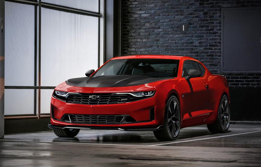 Chevrolet Camaro facelift: muscle car-ul a primit modificări estetice și tehnologii noi - Poza 1