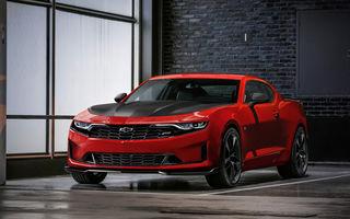 Chevrolet Camaro facelift: muscle car-ul a primit modificări estetice și tehnologii noi