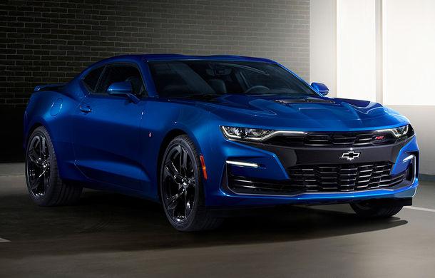 Chevrolet Camaro facelift: muscle car-ul a primit modificări estetice și tehnologii noi - Poza 2