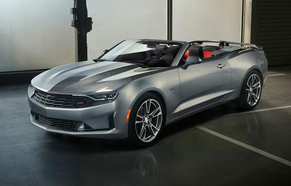 Chevrolet Camaro facelift: muscle car-ul a primit modificări estetice și tehnologii noi - Poza 7