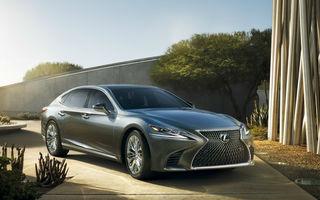 Lexus are planuri de dezvoltare pentru LS: limuzina ar putea primi o versiune hibridă mai puternică