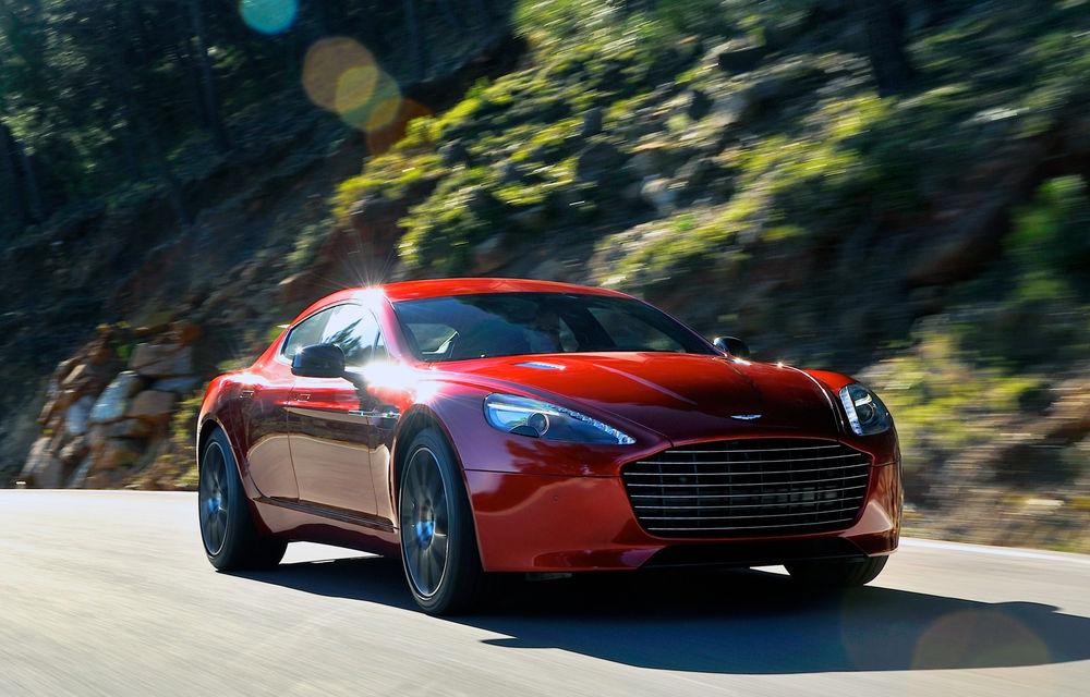 Noul Aston Martin Rapide AMR va fi lansat în acest an: un prototip al modelului de performanță a fost testat la Nurburgring - Poza 1