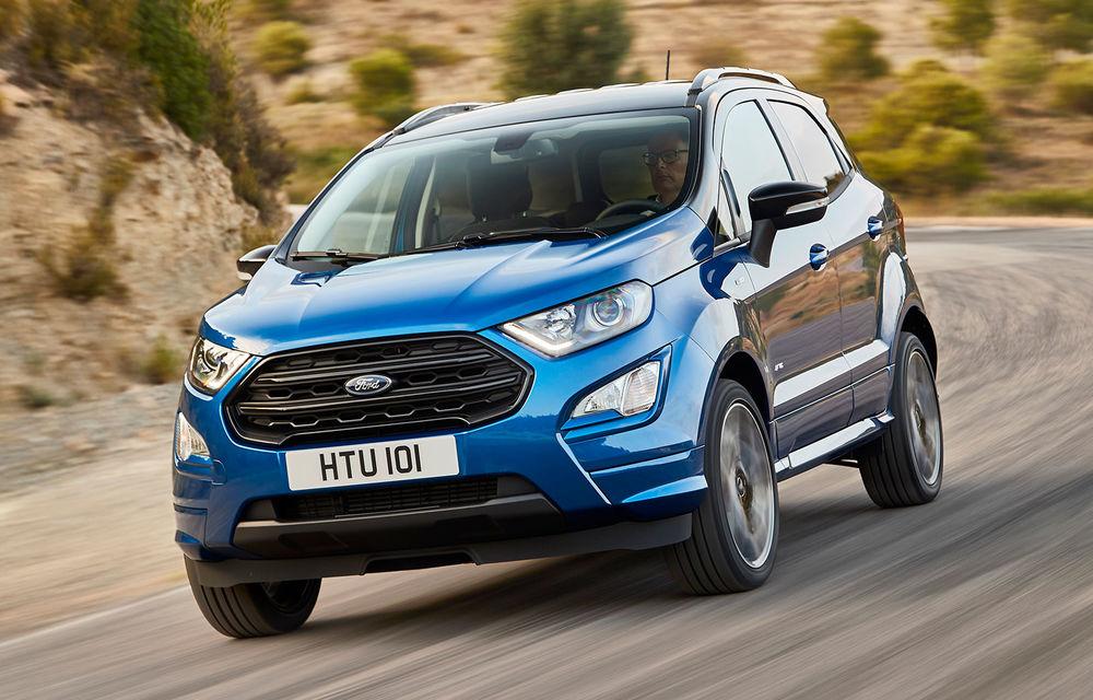 Record pentru uzina de la Craiova: peste 36.000 de unități Ford Ecosport produse în primele 3 luni ale anului - Poza 1