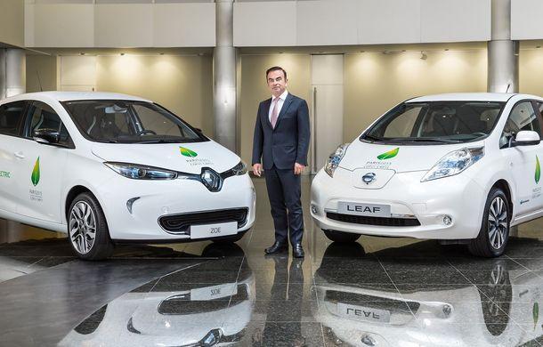 """Negocierile privind fuziunea Renault-Nissan, confirmate de Carlos Ghosn: """"Suntem deschiși tuturor opțiunilor"""" - Poza 1"""