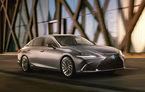 Prima imagine cu noua generație Lexus ES: debutul oficial va avea loc în cadrul Salonului Auto de la Beijing
