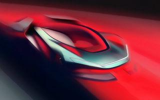 Primele schițe cu viitorul hypercar electric dezvoltat de Automobili Pininfarina: 2.000 de cai putere pentru modelul care debutează în 2020