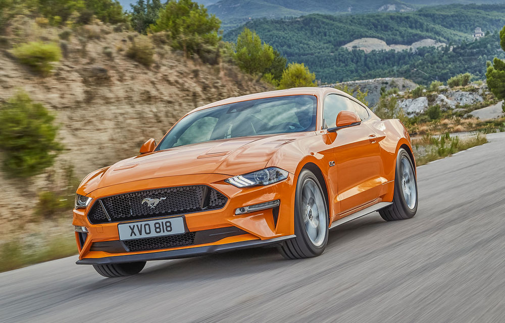 Ford Mustang, cel mai bine vândut coupe sportiv din lume în 2017: americanii au vândut peste 125.000 de exemplare - Poza 1