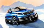 Primele schițe cu Skoda Kamiq: SUV-ul dedicat pieței din China va fi lansat în aprilie