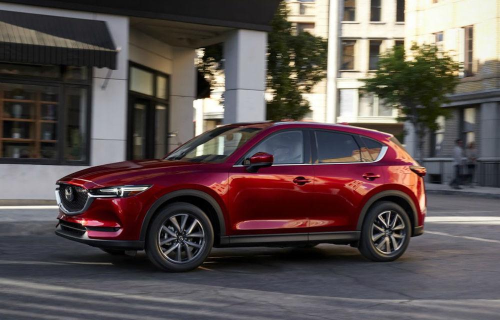 """Mazda nu va renunța la motoarele diesel: """"Oamenii vor SUV-uri cu consum redus de carburant"""" - Poza 1"""