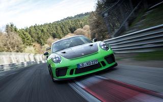 Performanță pe Iadul Verde: Porsche 911 GT3 RS facelift a parcurs circuitul de la Nurburgring în mai puțin de 7 minute