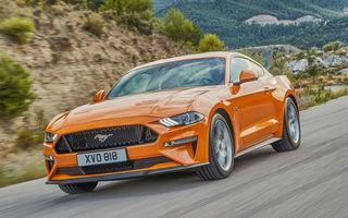 Ford Mustang facelift este disponibil în România: start de la 38.800 de euro