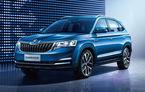 Primele detalii tehnice despre Skoda Kamiq: SUV-ul de oraș dedicat Chinei are motor pe benzină de 1.5 litri și 110 cai putere