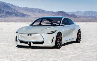 Infiniti va dezvolta o platformă nouă pentru vehicule electrice: proiectul are la bază conceptul Q Inspiration