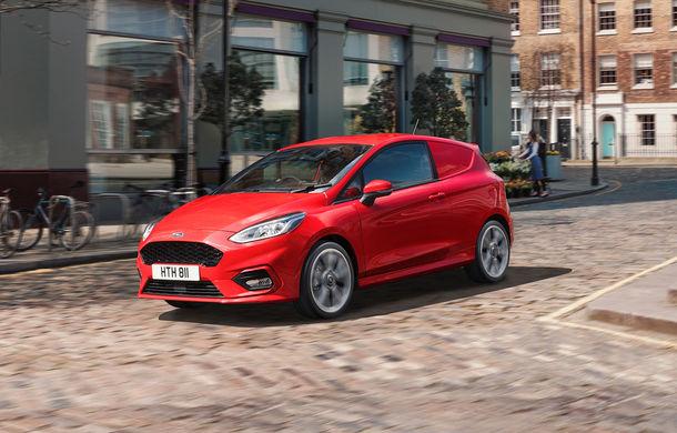 Ford a lansat noul Fiesta Van: modelul de clasă mică are două locuri și un volum de încărcare de 1.000 de litri - Poza 1