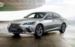 Lexus a prezentat noua generație ES: dimensiuni mai mari, o platformă nouă și o versiune F Sport