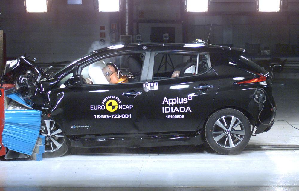 Noua generație Nissan Leaf, 5 stele la Euro NCAP: teste mai dure pentru protecția pietonilor și bicicliștilor - Poza 3