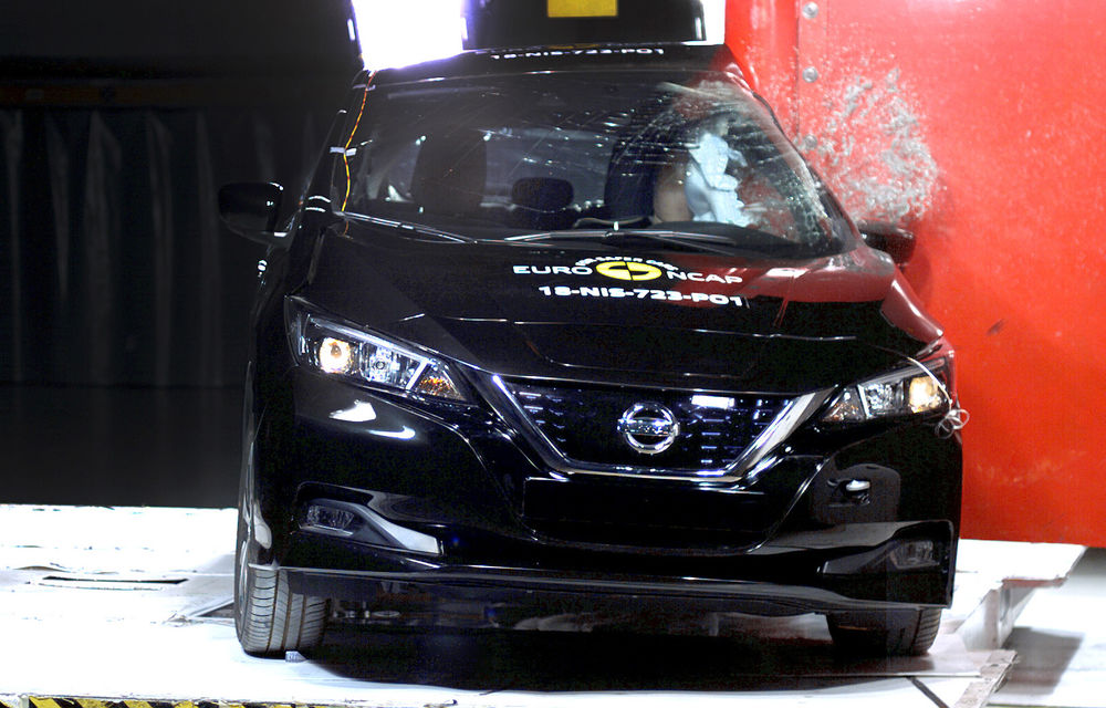 Noua generație Nissan Leaf, 5 stele la Euro NCAP: teste mai dure pentru protecția pietonilor și bicicliștilor - Poza 6