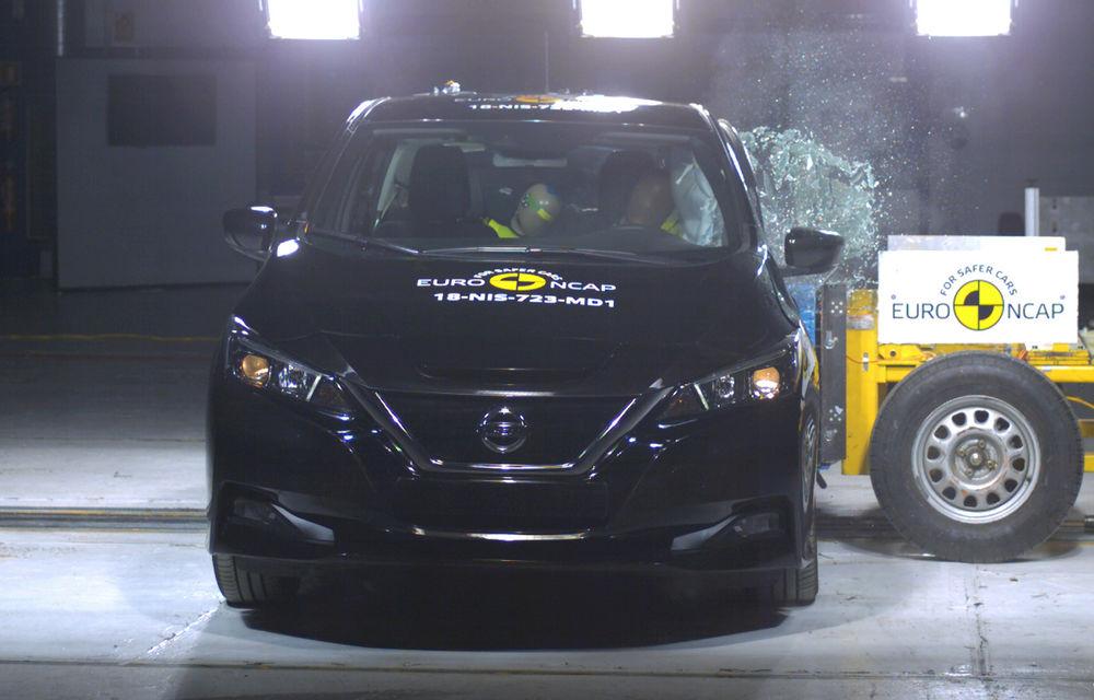 Noua generație Nissan Leaf, 5 stele la Euro NCAP: teste mai dure pentru protecția pietonilor și bicicliștilor - Poza 7