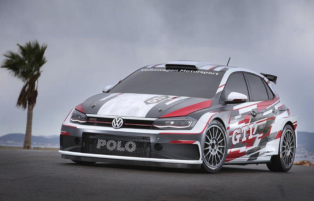 Volkswagen Polo GTI R5: modelul dedicat raliurilor debutează oficial în etapa din Spania din luna octombrie - Poza 1