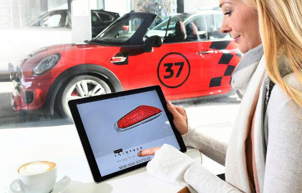 Mini deschide un showroom temporar în București în perioada 28 aprilie - 7 mai: Mini Hatch şi Cabriolet facelift, vedetele standului - Poza 3
