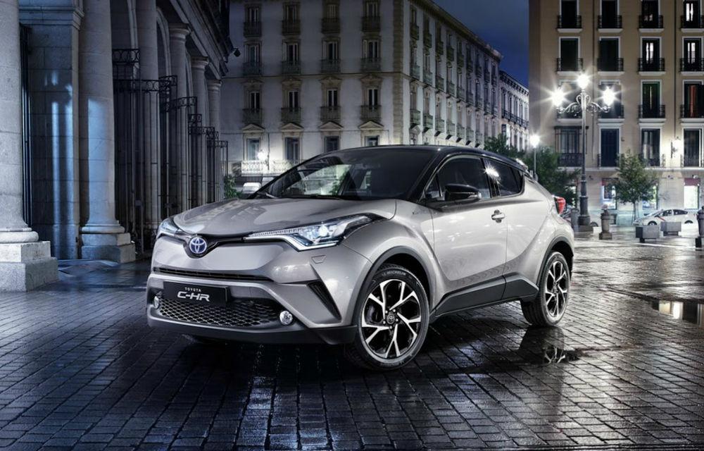 Toyota C-HR va avea versiune 100% electrică în China din 2020: pentru moment, modelul nu va fi lansat și în Europa - Poza 1