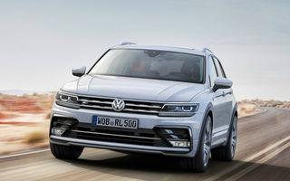 Volkswagen Tiguan ar putea primi o versiune coupe: mici modificări de design și preț mai mare