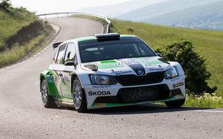 Transilvania Rally 2018: italianul Giandomenico Basso se impune în etapa din Cluj la volanul unui Skoda Fabia R5