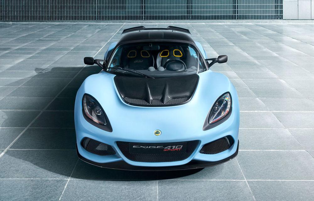 Lotus prezintă noul Exige Sport 410: motor V6 de 3.5 litri și 0-100 km/h în doar 3.4 secunde - Poza 1