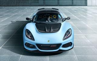 Lotus prezintă noul Exige Sport 410: motor V6 de 3.5 litri și 0-100 km/h în doar 3.4 secunde