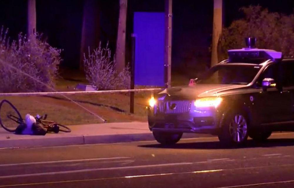 Uber a elucidat misterul accidentului fatal: mașina autonomă a detectat pietonul, dar a decis să nu oprească - Poza 1