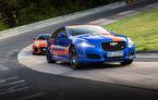 Alege să urci într-un Ring Taxi Jaguar: F-Type SVR și XJR575 au fiecare câte 575 CP și sunt gata să-ți ofere experiențe unice pe Nurburgring