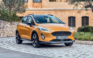 Detalii noi despre Ford Fiesta Active: gardă la sol mai mare cu 18 mm și elemente suplimentare de protecție