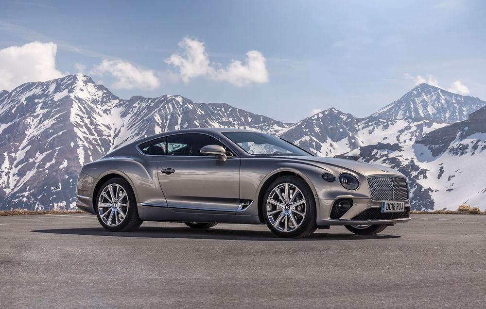 Test drive Bentley Continental GT