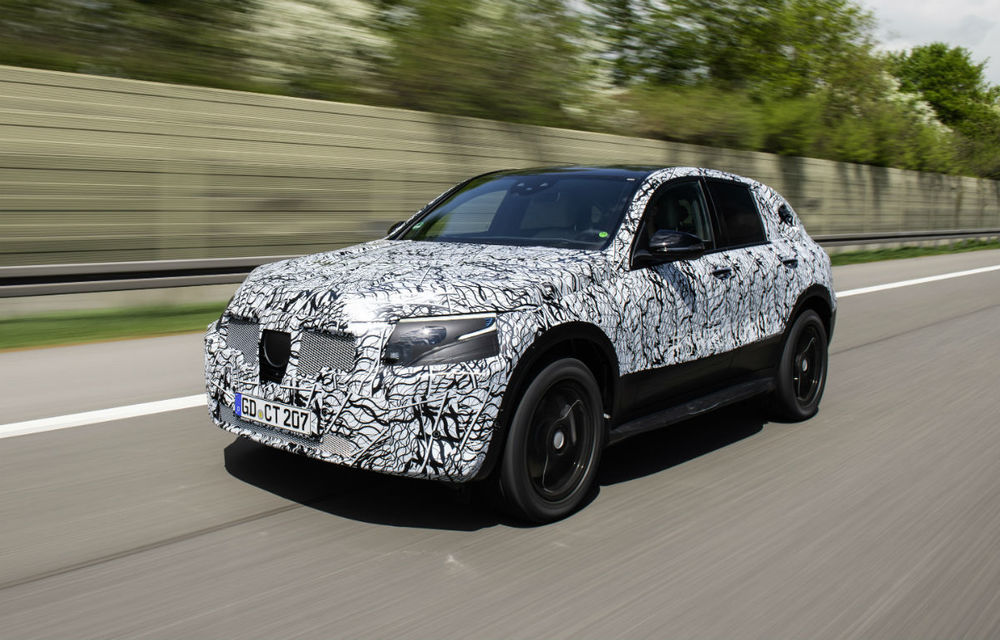 Mercedes a publicat noi imagini oficiale cu prototipul EQC: 4 ani pentru dezvoltarea primului model electric din gama EQ ce apare în 2019 - Poza 2