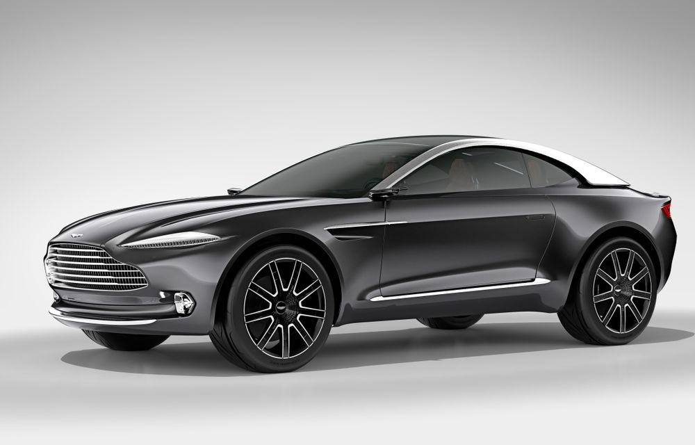 Primul SUV Aston Martin va avea versiune hybrid plug-in: modelul ar urma să beneficieze de un V8 de 4.0 litri și un motor electric, cu un total de 710 CP - Poza 1