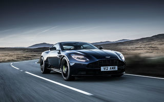 Noul Aston Martin DB11 AMR este aici: motor V12 twin-turbo de 5.2 litri, 640 de cai putere, 700 Nm și viteză maximă de 334 km/h