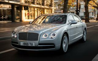 Bentley cu încărcare la priză: noul model Continental Flying Spur este așteptat în 2019 cu aceeași propulsie hibridă de pe Porsche Panamera