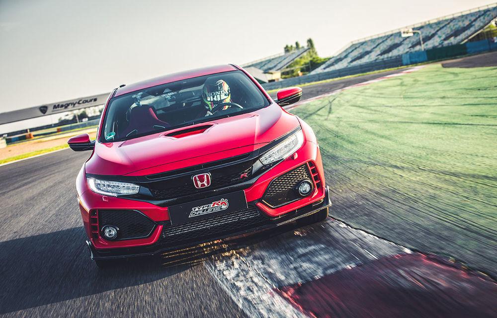 """""""Type R Challenge 2018"""" începe cu un succes: Honda Civic Type R e cea mai rapidă mașină de serie cu roți motrice față pe circuitul Magny Cours - Poza 3"""