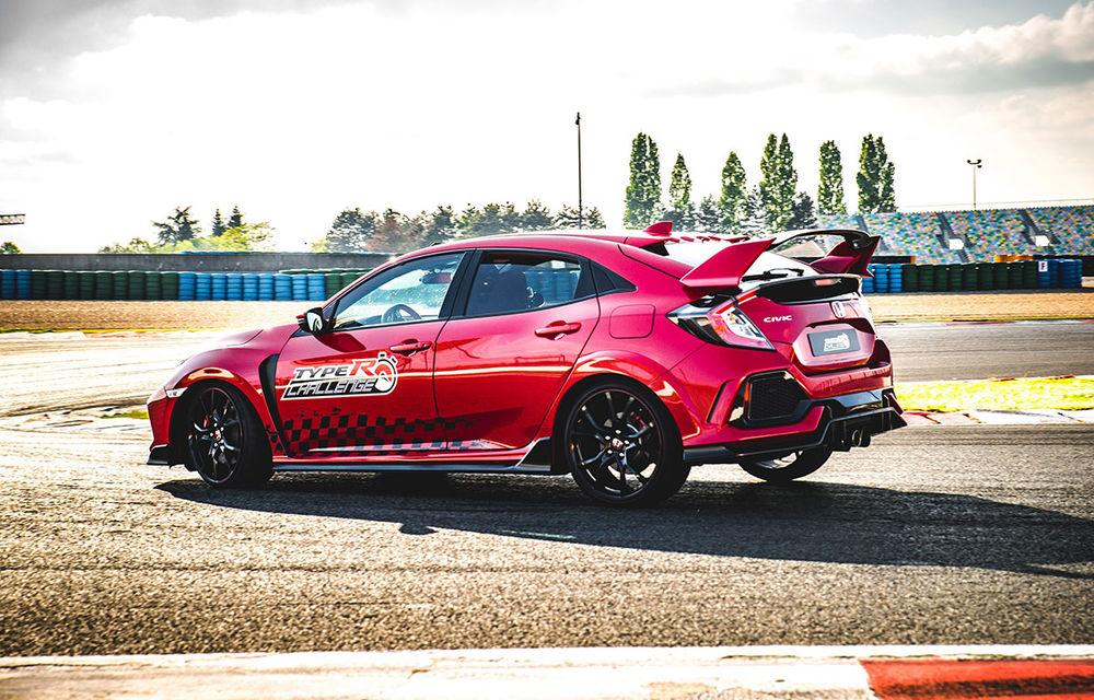 """""""Type R Challenge 2018"""" începe cu un succes: Honda Civic Type R e cea mai rapidă mașină de serie cu roți motrice față pe circuitul Magny Cours - Poza 4"""