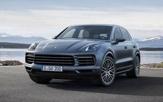 Porsche nu exclude lansarea unui Cayenne diesel: nemții scot din ecuație o versiune echipată cu un V8