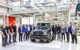 Mercedes a dat startul producției pentru noua generație Clasa G: uzina austriacă din Graz se ocupă de acest model încă din 1979