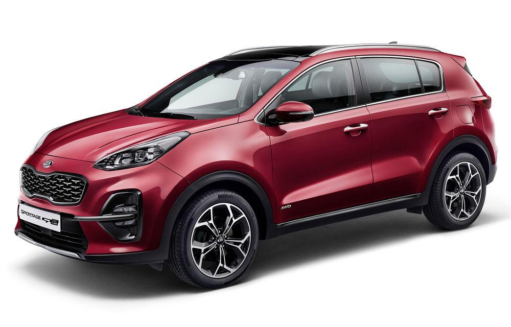 Kia Sportage facelift este aici: primul model Kia cu versiune micro-hibridă a primit și un nou motor diesel de 1.6 litri cu 115 CP sau 136 CP - Poza 1