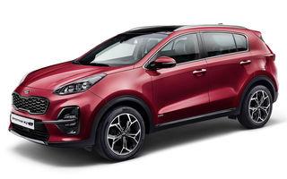 Kia Sportage facelift este aici: primul model Kia cu versiune micro-hibridă a primit și un nou motor diesel de 1.6 litri cu 115 CP sau 136 CP