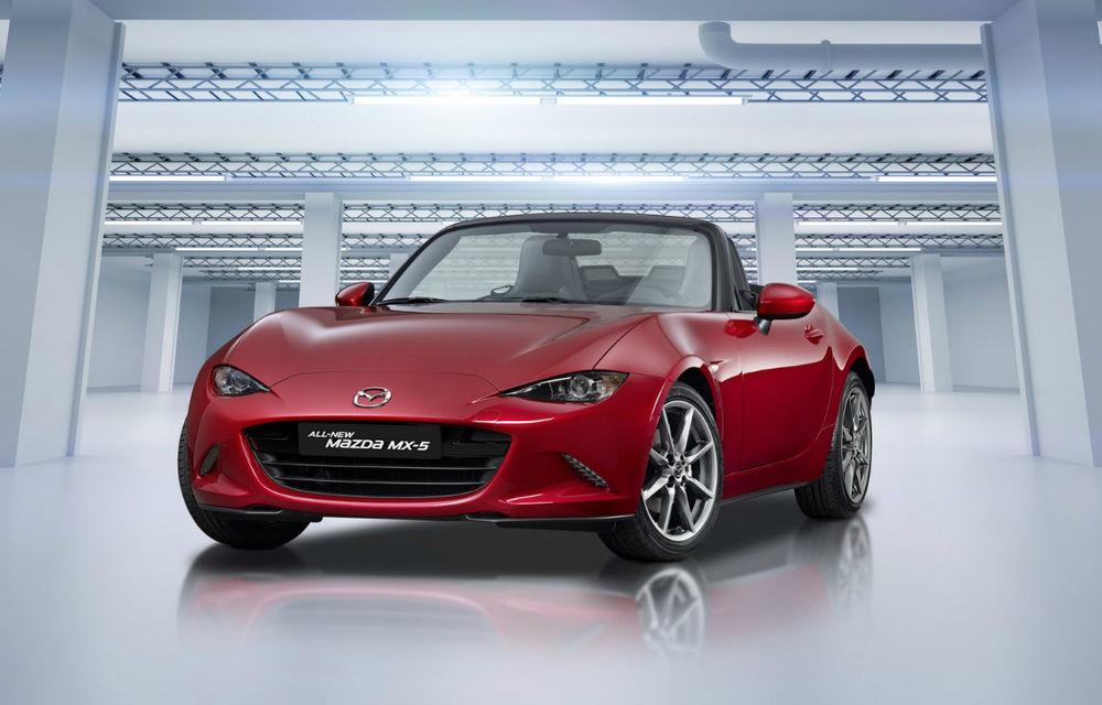 Mazda MX-5 ar putea primi motoare pe benzină îmbunătățite: unitatea SkyActiv-G de 2.0 litri va ajunge la 184 de cai putere - Poza 1